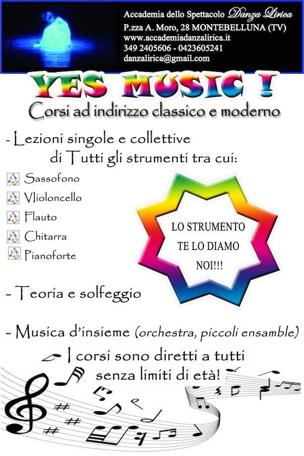 Sezione Musica Accademia Danza Lirica
